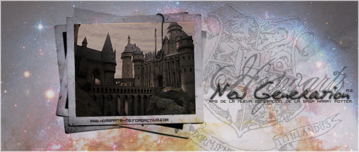 Hogwarts, the new generation.