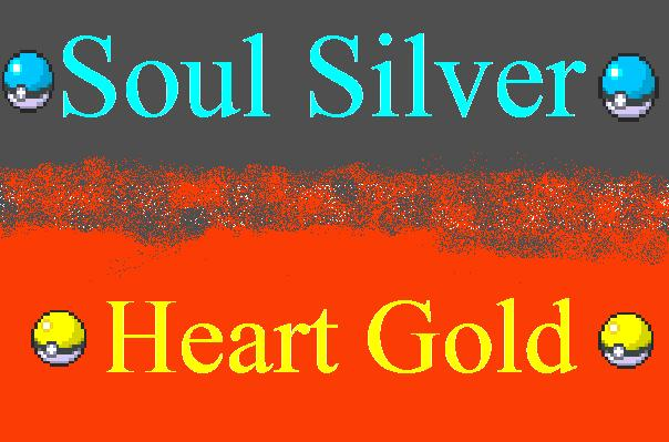 Pokemon Soul Silver And Heart Gold RPG