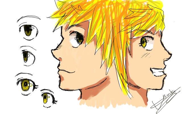 Les yeux quand le visage est de profil Sans_t10