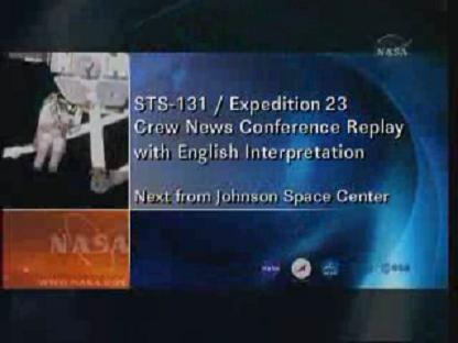 [STS-131 / ISS19A] Discovery : déroulement de la mission - Page 14 Vlcsn147