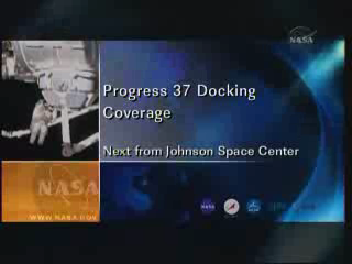 ISS : Amarrage de Progress M-05M le 1er mai 2010 Vlcsn284