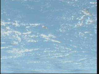 ISS : Amarrage de Progress M-05M le 1er mai 2010 Vlcsn291