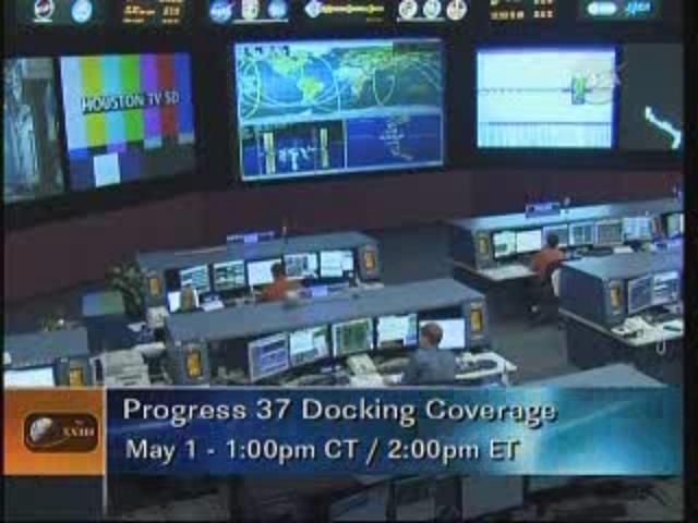 ISS : Amarrage de Progress M-05M le 1er mai 2010 Vlcsna29