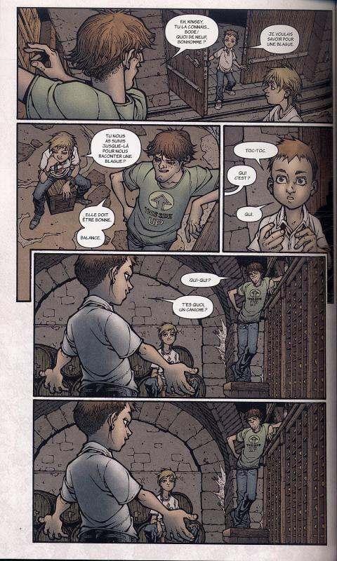Locke & Key [Joe Hill, Gabriel Rodriguez] Locke-11