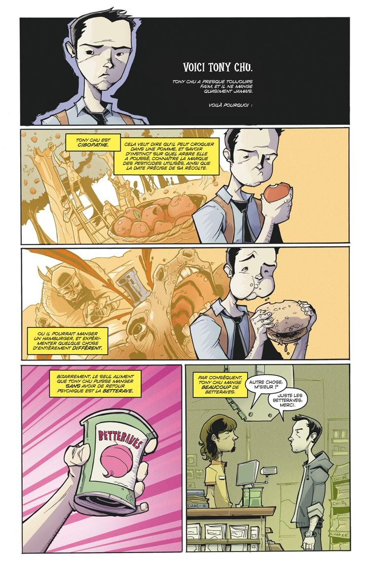 Tony Chu, détective cannibale. John Layman, Rob Guillory Shu210