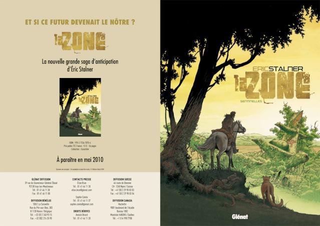 La zone tome 1 : Sentinelles. Eric Stalner Zone10