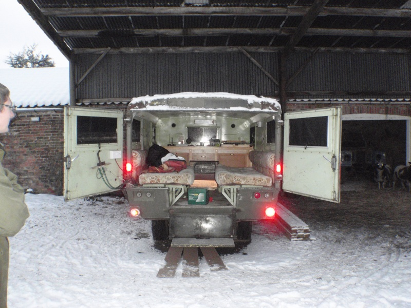 Series 2a Ambulance conversion  P1080011