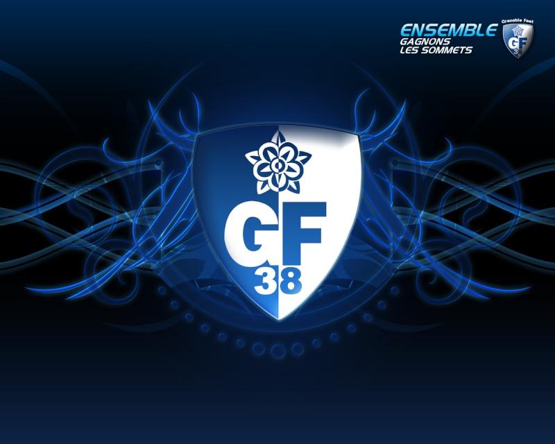 • /!\ ~> ® Grenoble Foot 38 ® <~ /!\ • Logo_g14