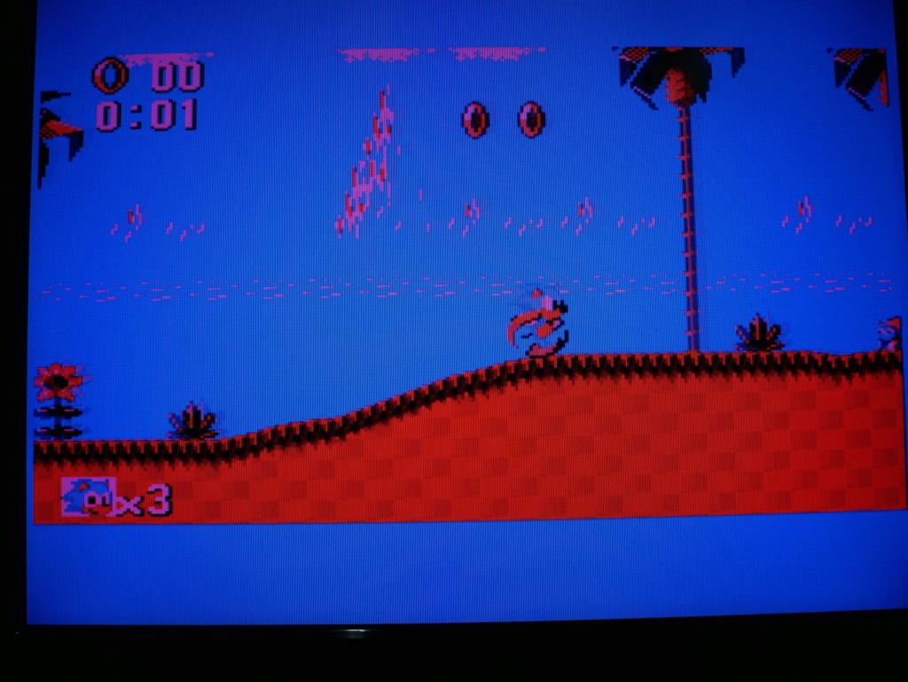 Console Master System 3010 - problème de couleur P1060111