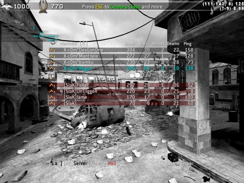 X-c0m* 3-1 Slak Cod4mp10