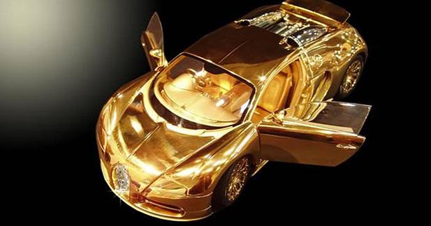 Une Bugatti Veyron en or à 2,4 millions d'euros... 260210
