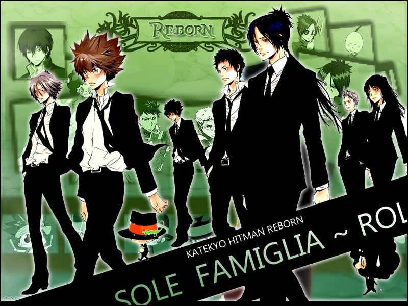 Katekyo Hitman Reborn Sole Family