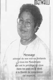 Message de Nahed Mahmoud Metwalli à tous les musulmans ! Nahmou11