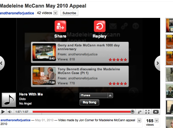 McCanns new video: Maddie plays dressing-up, weeks before she vanished Appeal10
