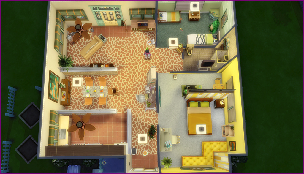 TS4 Shell Game Decor Challenge 06-02-12