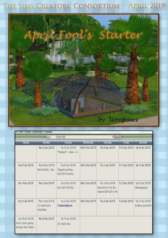 2019 TSCC Calendar: April & May  April211