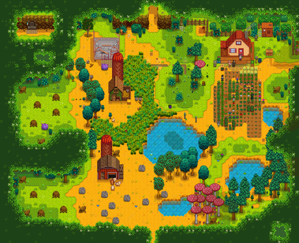Stardew Valley Button11
