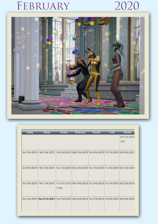 2020 TSCC Calendar: June Febr2010