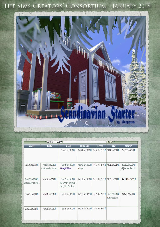 2019 TSCC Calendar: April & May  Januar10