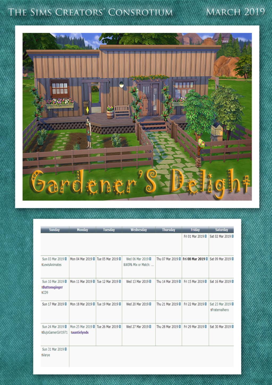 2019 TSCC Calendar: September March210