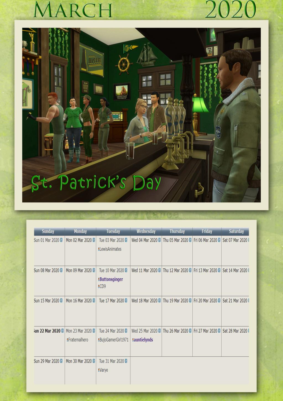 2020 TSCC Calendar: June March211
