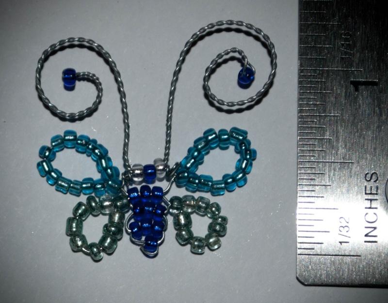 June Themed Embellishment Swap - Blue or Green! Butter10