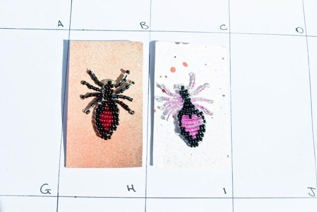 Beaded Beauties :) Spider11