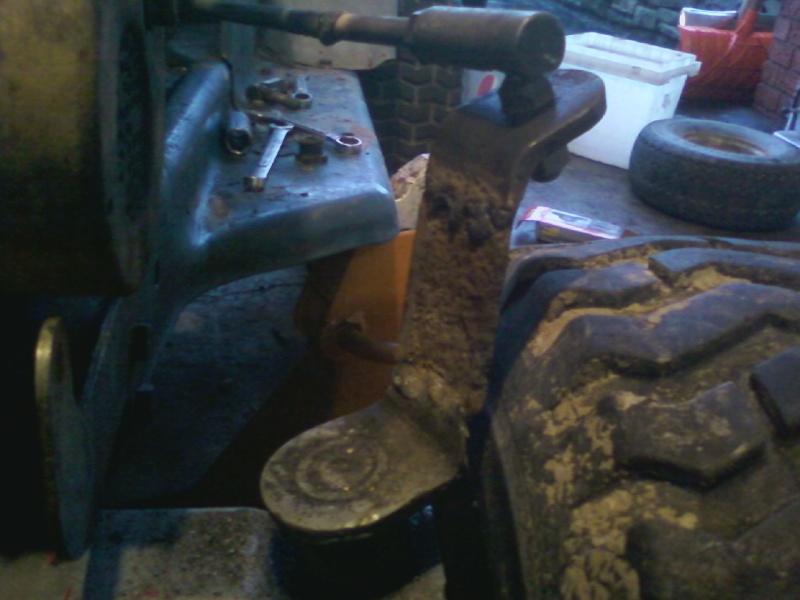 Dynamark trail mower Sspx0032