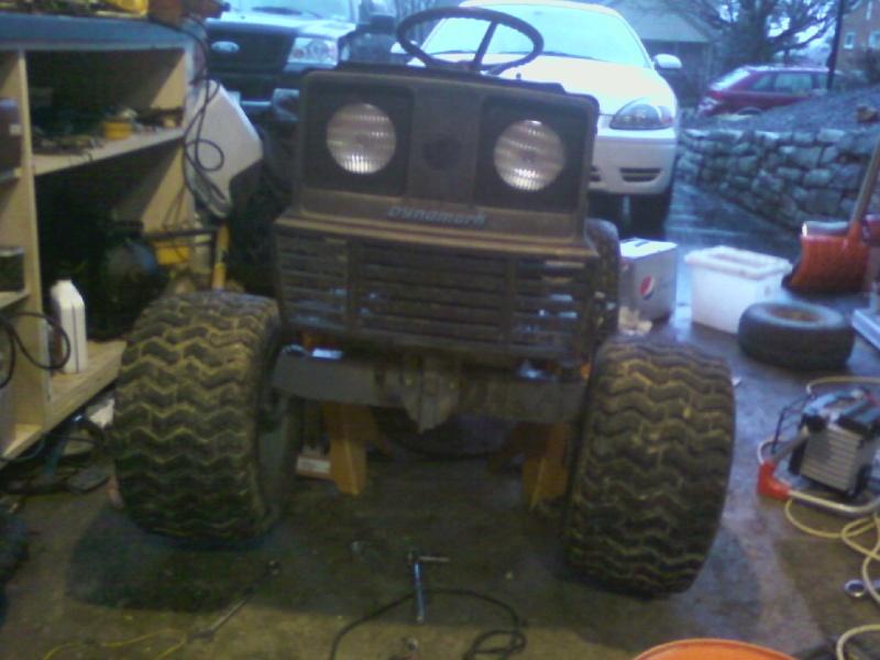 Dynamark trail mower Sspx0035