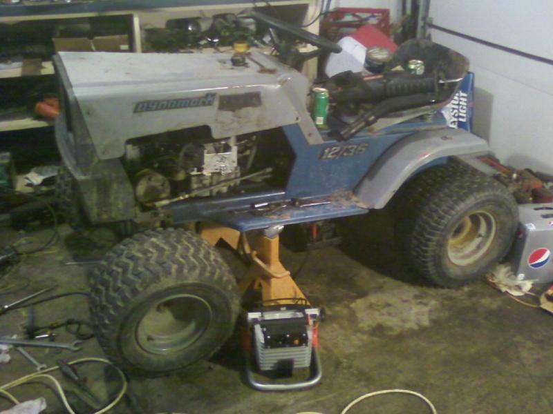 Dynamark trail mower Sspx0037