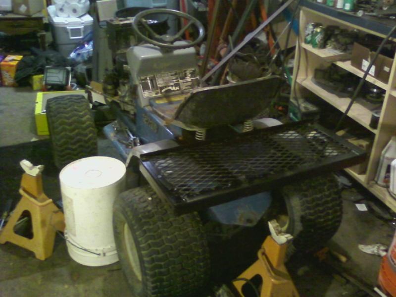 Dynamark trail mower Sspx0040