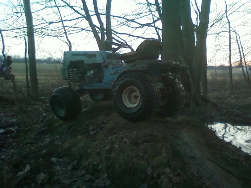 Dynamark trail mower Sspx0042