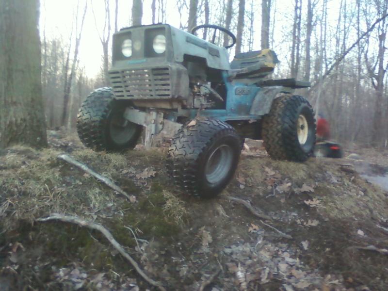 Dynamark trail mower Sspx0043