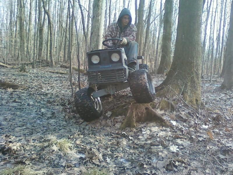 Dynamark trail mower Sspx0052