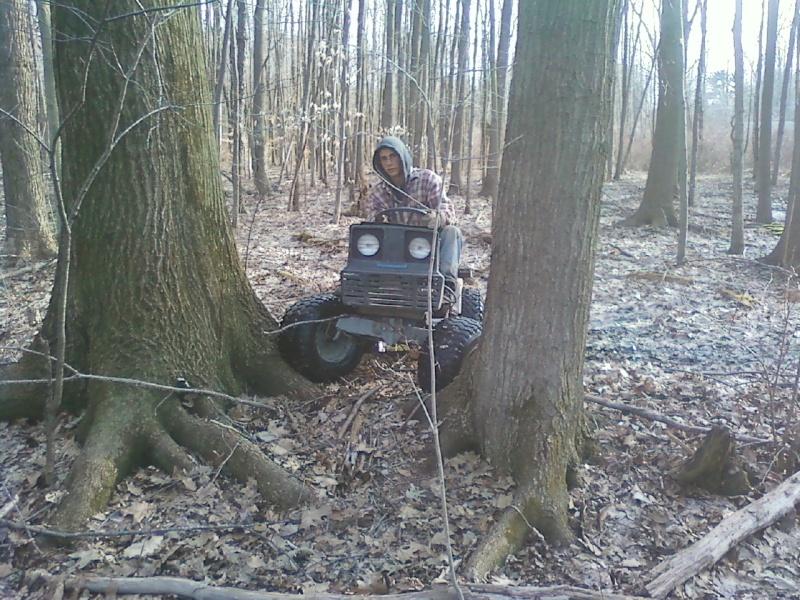 Dynamark trail mower Sspx0053