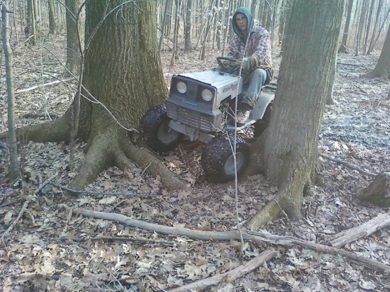 Dynamark trail mower Sspx0054