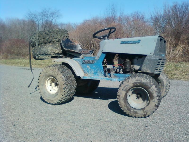 Dynamark trail mower Sspx0055