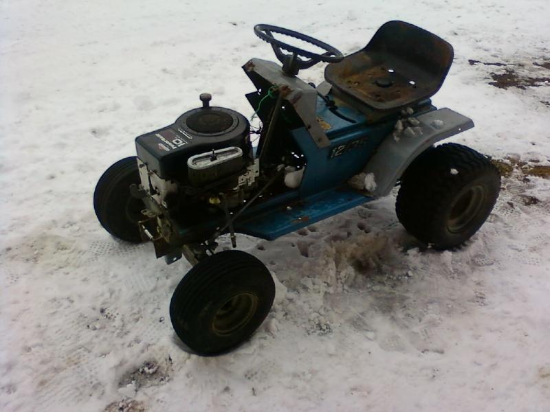 Dynamark trail mower Sspx0112