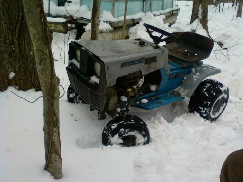 Dynamark trail mower Sspx0114