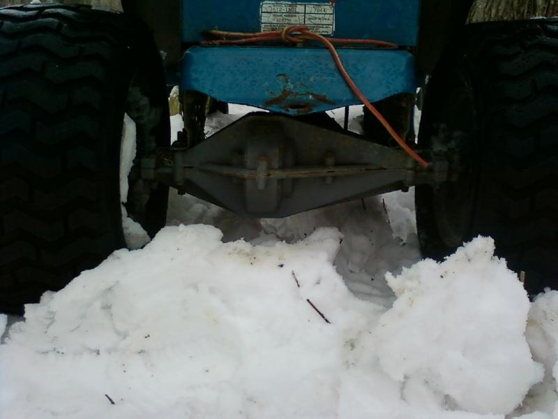 Dynamark trail mower Sspx0115