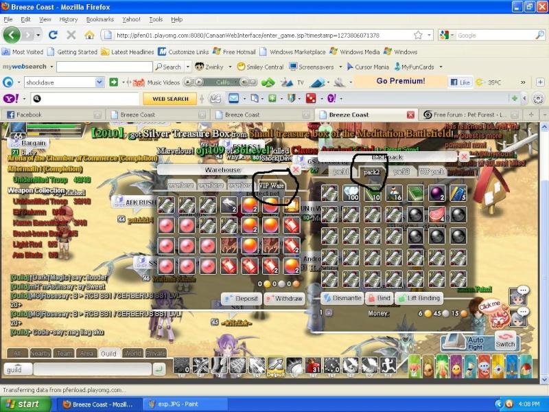 Full of exp ^^ elow 82 Exp210