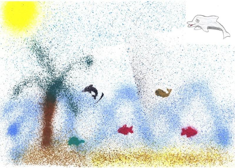 ^v^ Ma galerie de dessins sur papiers  Plage10