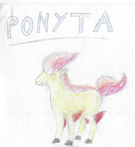 ^v^ Ma galerie de dessins sur papiers  Ponyta10