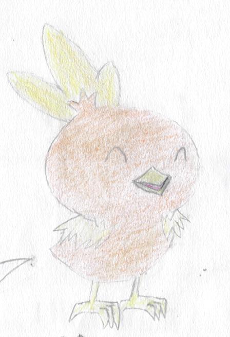 ^v^ Ma galerie de dessins sur papiers  Poussi10