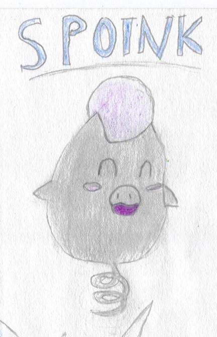 ^v^ Ma galerie de dessins sur papiers  Spoink10