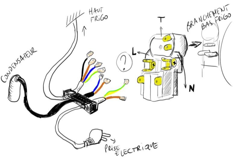 Demande d'aide branchement electrique sur refrigerateur Schema10