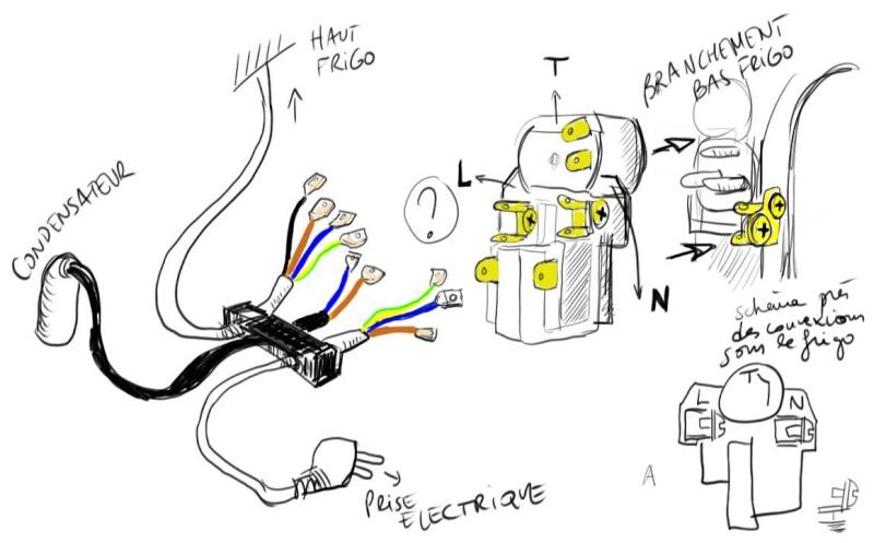 Demande d'aide branchement electrique sur refrigerateur Schema12