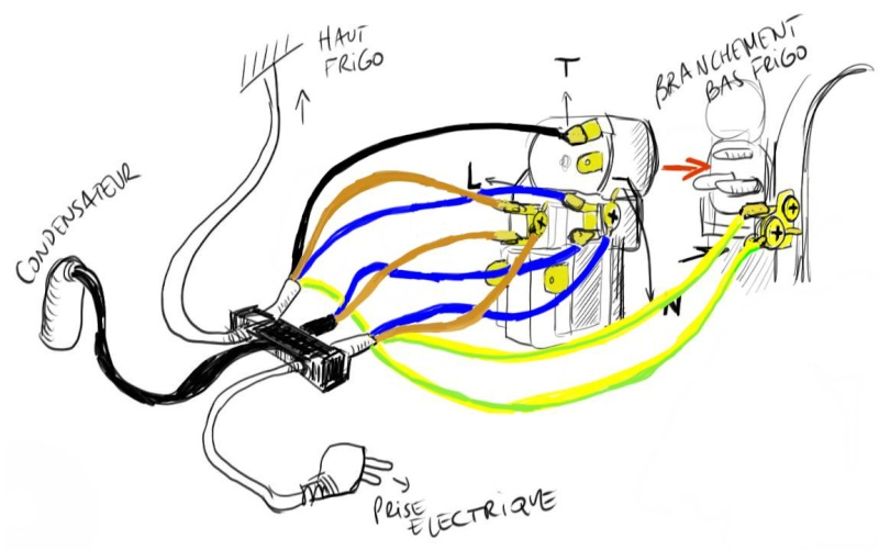 Demande d'aide branchement electrique sur refrigerateur Schema13