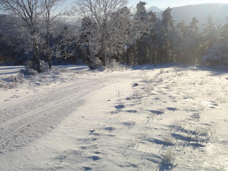Ma BMW dans la neige Pc260012