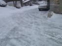 Ma BMW dans la neige Pc250012